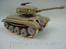 1. Brinquedos antigos - Gama - Tanque de guerra modelo americano Década de 1950