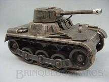 1. Brinquedos antigos - Gama - Tanque de guerra PanzerKapfwagen I Made in US Zone Ano 1950