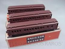 1. Brinquedos antigos - Lionel - Conjunto de três Carros de Passageiros
