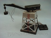 1. Brinquedos antigos - Lionel - Torre com guindaste eletromagnético 182 Magnet Crane Ano 1946 a 1949