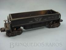 1. Brinquedos antigos - Lionel - Vagão de carvão Dump Car preto
