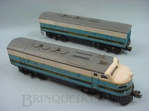 1. Brinquedos antigos - Lionel - Locomotiva 2368 Diesel F3 AB Baltimore and Ohio Ano 1956 a 1957