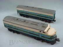 1. Brinquedos antigos - Lionel - Locomotiva 2368 Diesel F3 AB Baltimore and Ohio Ano 1956 a 1957