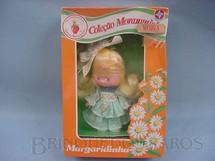 1. Brinquedos antigos - Estrela - Margaridinha Coleção Moranguinho Completa Caixa  Lacrada Década de 1980
