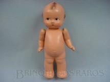 1. Brinquedos antigos - Estrela - Bebê de Massa com 18,00 cm de altura Kwipie Doll Década de 1940
