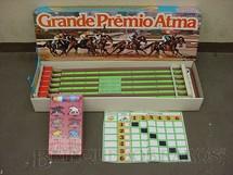 1. Brinquedos antigos - Atma - Corrida de Cavalos Grande Premio Atma Caixa lacrada Década de 1970