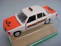 1. Brinquedos antigos - Schuco-Rei - Mercedes Benz 350 SE Taxi Brasilianische Schuco Rei