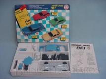 1. Brinquedos antigos - Schuco-Rei - Mercedes Benz 350 SE Brasilianische Schuco Rei Kit para montar lacrado
