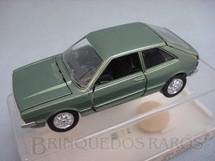 1. Brinquedos antigos - Schuco-Rei - Volkswagen Scirocco verde metálico Brasilianische Schuco Rei