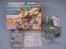 1. Brinquedos antigos - Estrela - Comandos em Ação Veículo Kaptador lacrado Década de 1980