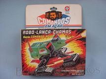 1. Brinquedos antigos - Estrela - Comandos em Ação Robo-Lança-Chamas lacrado