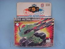 1. Brinquedos antigos - Estrela - Comandos em Ação Robo-Metralhadora lacrado