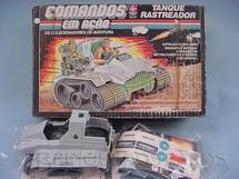 1. Brinquedos antigos - Estrela - Comandos em Ação Tanque Rastreador lacrado