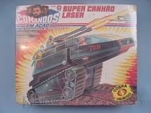 1. Brinquedos antigos - Estrela - Comandos em Ação Super Canhão Laser lacrado