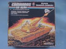 1. Brinquedos antigos - Estrela - Comandos em Ação Super Tanque Canhão lacrado