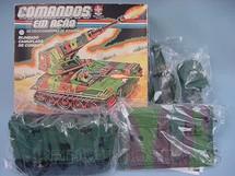 1. Brinquedos antigos - Estrela - Comandos em Ação Blindado Camuflado de Combate lacrado