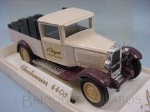 1. Brinquedos antigos - Solido - Caminhonete Citroen C4F 1930 Charbonnier