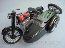 1. Brinquedos antigos - Marusan Toys - Motocicleta e Sidecar Sumbeam com 35,00 cm de comprimento Década de 1960
