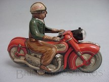 1. Brinquedos antigos - Schuco - Motocicleta Charly Made in US Zone Década de 1950