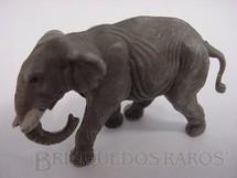 1. Brinquedos antigos - Elastolin - Filhote de Elefante