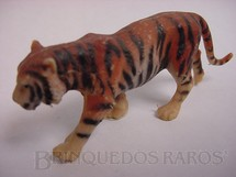 1. Brinquedos antigos - Elastolin - Tigre de Bengala Década de 1970