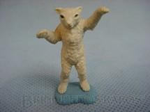 1. Brinquedos antigos - Britains - Urso Polar de pé Década de 1970