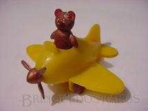 1. Brinquedos antigos - Balila - Avião com Urso 6,00 cm de comprimento Década de 1950
