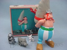 1. Brinquedos antigos - Toy Cloud - Personagem Obelix da Estória em Quadrinhos Astérix o Gaules 12,00 cm de altura Década de 1980