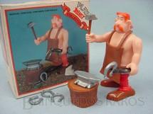 1. Brinquedos antigos - Toy Cloud - Personagem Automatix da Estória em Quadrinhos Astérix o Gaules com 11,00 cm de altura Década de 1980