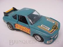 1. Brinquedos antigos - Shinsei - BMW 500 SL azul escura Alfema década de 1980