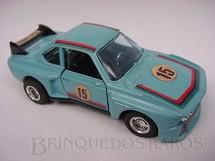 1. Brinquedos antigos - Shinsei - BMW 500 SL azul clara Alfema década de 1980