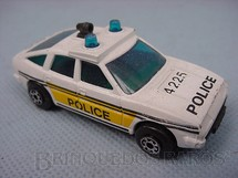 1. Brinquedos antigos - Matchbox - Inbrima - Rover 3500 Police Superfast Brazilian Matchbox Inbrima 1970