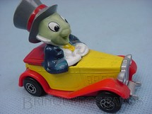 1. Brinquedos antigos - Matchbox - Jiminy Cricket Old Timer Walt Disney Series