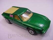 1. Brinquedos antigos - Corgi Toys-Corgi Jr. - Lotus Europa Corgi Jr Whizzwheels verde metálico