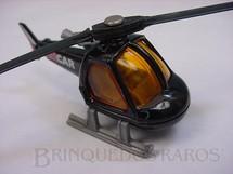 1. Brinquedos antigos - Matchbox - Helicopter Superfast preto Air Car
