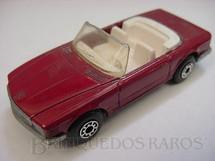 1. Brinquedos antigos - Matchbox - Inbrima - Mercedes Benz 350 SL Tourer Superfast vermelho escuro Brazilian Matchbox Inbrima 1980