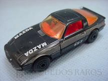 1. Brinquedos antigos - Matchbox - Mazda RX 7 Superfast preto