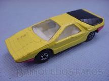 1. Brinquedos antigos - Matchbox - Inbrima - Alfa Carabo Superfast amarela Brazilian Matchbox Inbrima 1970