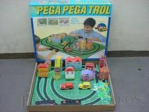 1. Brinquedos antigos - Trol - Pega Pega Trol perfeito estado Completo terceira série Década de 1970