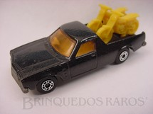 1. Brinquedos antigos - Matchbox - Inbrima - Caminhonete Holden Pick Up Superfast preto Brazilian Matchbox Inbrima 1970