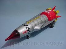 1. Brinquedos antigos - Nomura Toys - Foguete Solar X com 36,00 cm de comprimento Década de 1970