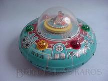 1. Brinquedos antigos - Estrela - Disco Voador Nave Espacial X-17 Com 26,00 cm de diâmetro Década de 1960