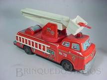 1. Brinquedos antigos - Modern Toys e Masudaya Toys - Caminhão com Snorkel Década de 1970