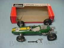 1. Brinquedos antigos - Schuco - Lotus 33 Formula 1 com 22,00 cm de comprimento Década de 1970
