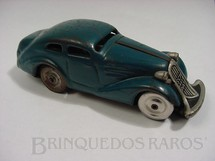 1. Brinquedos antigos - Schuco - Sedan Patente azul Made in US Zone Década de 1950