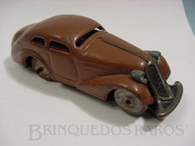 1. Brinquedos antigos - Schuco - Sedan Patente marron D.R. Patente Decada de 1930