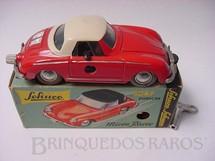 1. Brinquedos antigos - Schuco - Porsche 911 vermelho Micro Racer Década de 1970