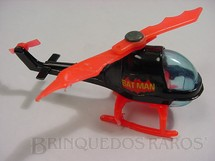 1. Brinquedos antigos - Corgi Toys-Corgi Jr. - Helicóptero do Batman Batcopter Corgi Jr Década de 1970