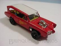 1. Brinquedos antigos - Corgi Toys-Corgi Jr. - Pontiac GTO dos Monkees Monkeemobile Corgi Jr completo com figuras década de 1970