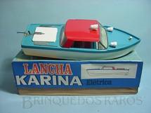 1. Brinquedos antigos - Metalma - Lancha Karina